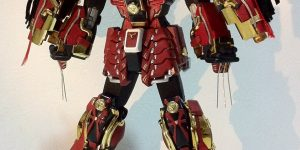 Gunjap's Custom 1/100 MG Shin Musha Gundam Sengoku no Jin: Preview Image, LINK