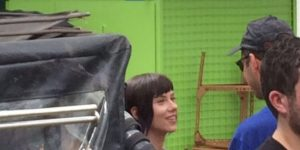 Scarlett Johansson in Hong Kong filming for Ghost in the Shell: First Eight Images!