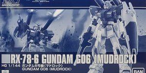 P-Bandai HGUC 1/144 RX-78-6 GUNDAM G06 MUDROCK REVIEW
