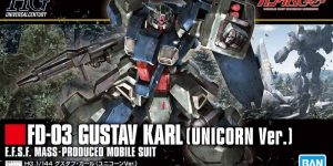 HGUC 1/144 GUSTAV KARL (Unicorn Ver.) REVIEW (No.70 images, credit)