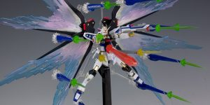 REVIEW METAL ROBOT SPIRITS Wing of light and Hi-MAT Full Burst Effect Set for STRIKE FREEDOM GUNDAM. Many Images, credit