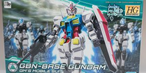 REVIEW HGBD 1/144 GBN-BASE GUNDAM (No.64 images, credit)