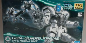 REVIEW HGBD 1/144 GBN-GUARD FRAME: No.60 Images, credit