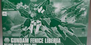 FULL REVIEW: P-Bandai HGBF 1/144 GUNDAM FENICE LIBERTA' (Not Liberta... Dear Bandai)