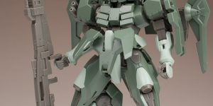 FULL REVIEW: HGBF 1/144 Mario Renato's STRIKER GN-X