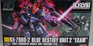 FULL REVIEW: HGUC 1/144 RX-79BD-2 BLUE DESTINY UNIT 2 EXAM  (No.65 Images)