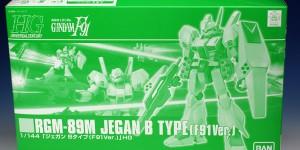P-Bandai HGUC 1/144 RGM-89M Jegan B Type [F91 Ver.] assembled. FULL Photoreview No.32 Images