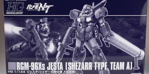 REVIEW P-Bandai HGUC 1/144 JESTA SHEZARR TYPE, TEAM A: No.58 Images, credit