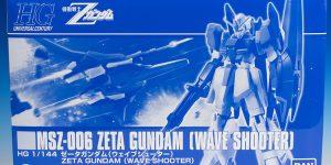 [FULL REVIEW] P-Bandai HGUC 1/144 ZETA GUNDAM [WAVE SHOOTER]. Many Images