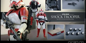 STAR WARS BATTLEFRONT: Hot Toys 1/6 SHOCK TROOPER. Full Official Images, Full Eng Info