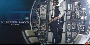 Hot Toys x Star Wars: 1/6 MILLENNIUM FALCON COCKPIT. Official Images! Info from the Manufacturer