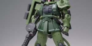A mobile suit that everyone knows, Mass production Zaku II Type C appears in G.F.F.M.C.