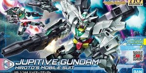 HGBD: R 1/144 Jupitive Gundam (box picture), official images and Video released