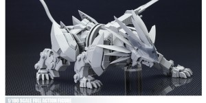 [ZOIDS] 1/100 MURASAME LIGER Upcoming Action Figure by Kotobukiya. Official Photo Preview, Info Release