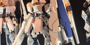 P-Bandai MG 1/100 Nu GUNDAM Ver.Ka HWS HEAVY WEAPON SYSTEM on display @ 56th All Japan Model Hobby Show 2016: Big Size Images, Info Release