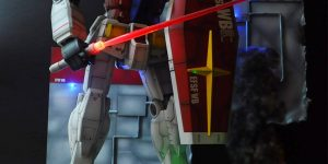 yamadakei0301's 1/48 Mega Size Model RX-78-2 GUNDAM Diorama Full LEDs. Full Review