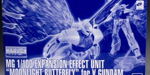 "P-Bandai MG 1/100 Expansion Effect Unit ""MOONLIGHT BUTTERFLY"" for Turn A Gundam: Full REVIEW No.20 Big Size Images, Info"