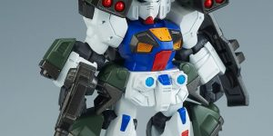 P-Bandai MOBILE SUIT ENSEMBLE EX10 GUNDAM F90 D TYPE / H TIPE set: New Official Images, info
