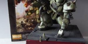pbqjh776's Diorama: MG 1/100 MS-06J ZAKU II Ver.2.0 Amazing Paint Job! Full Photo Review, Info