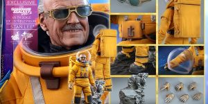 TOKYO Comic Con 2019 Movie Masterpiece 1/6 Guardians of the Galaxy Vol.2 STAN LEE [with Bonus Cosbaby]