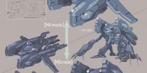 [A.O.Z Re-Boot] AMX-008M GA-ZOWMN MARINE TYPE: Hi Res Image, MS and MA Mode Images too